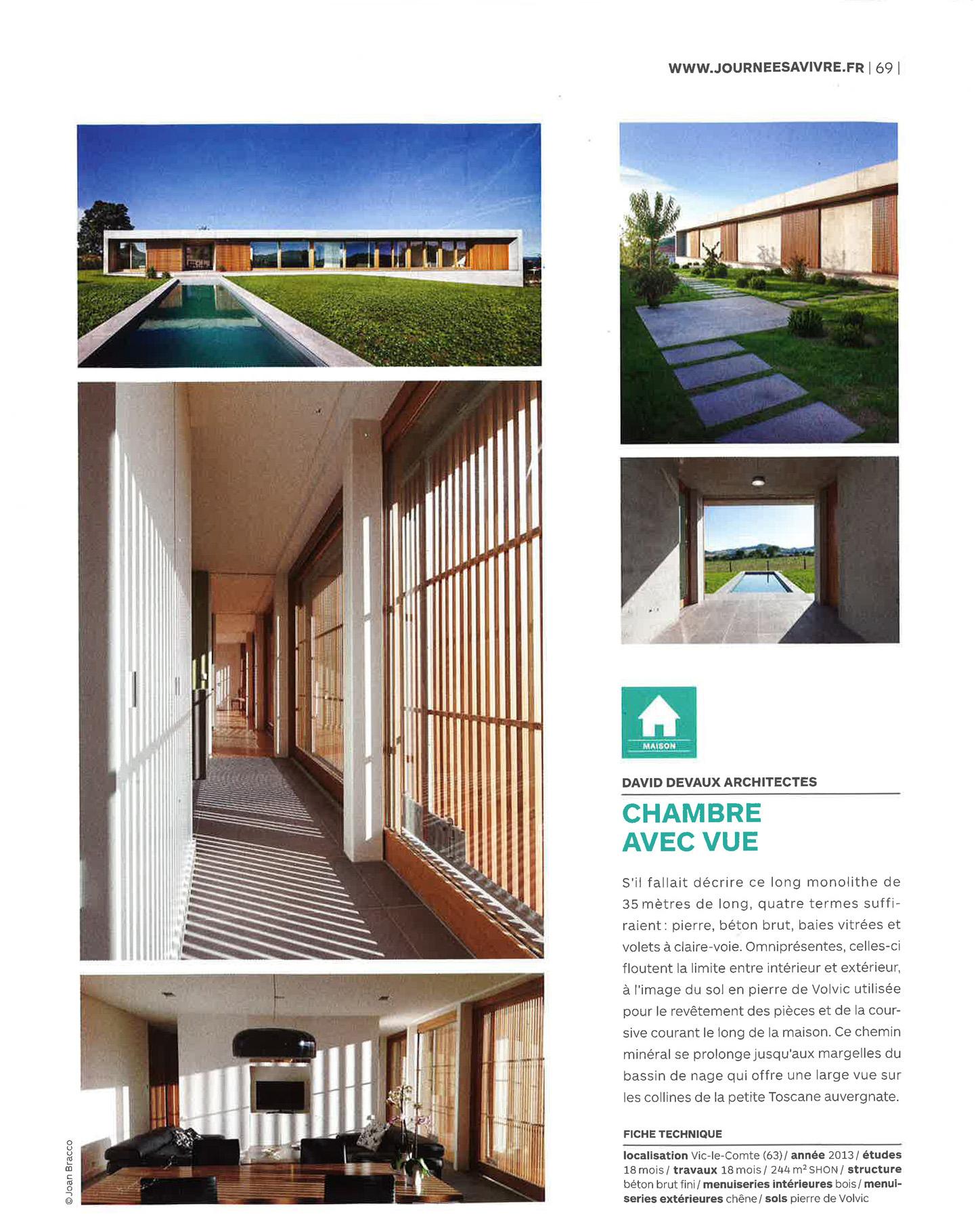 Extrêmement Maison D. | DDA Architectes GE45