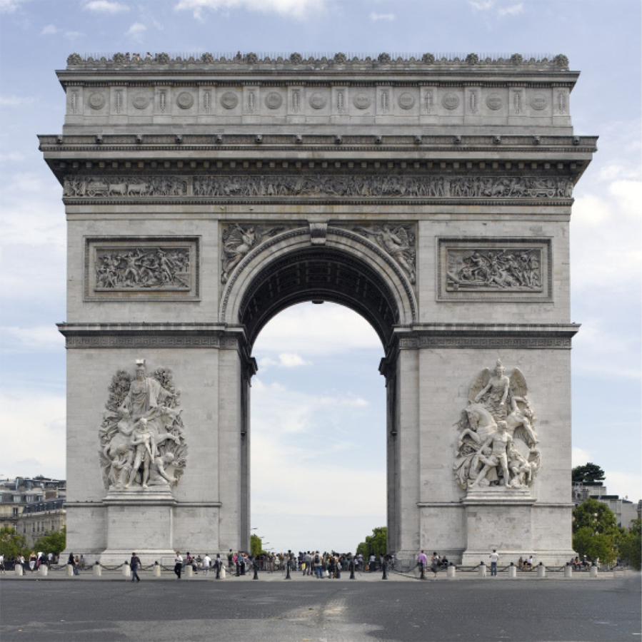 arc de triomphe de paris dda architectes. Black Bedroom Furniture Sets. Home Design Ideas