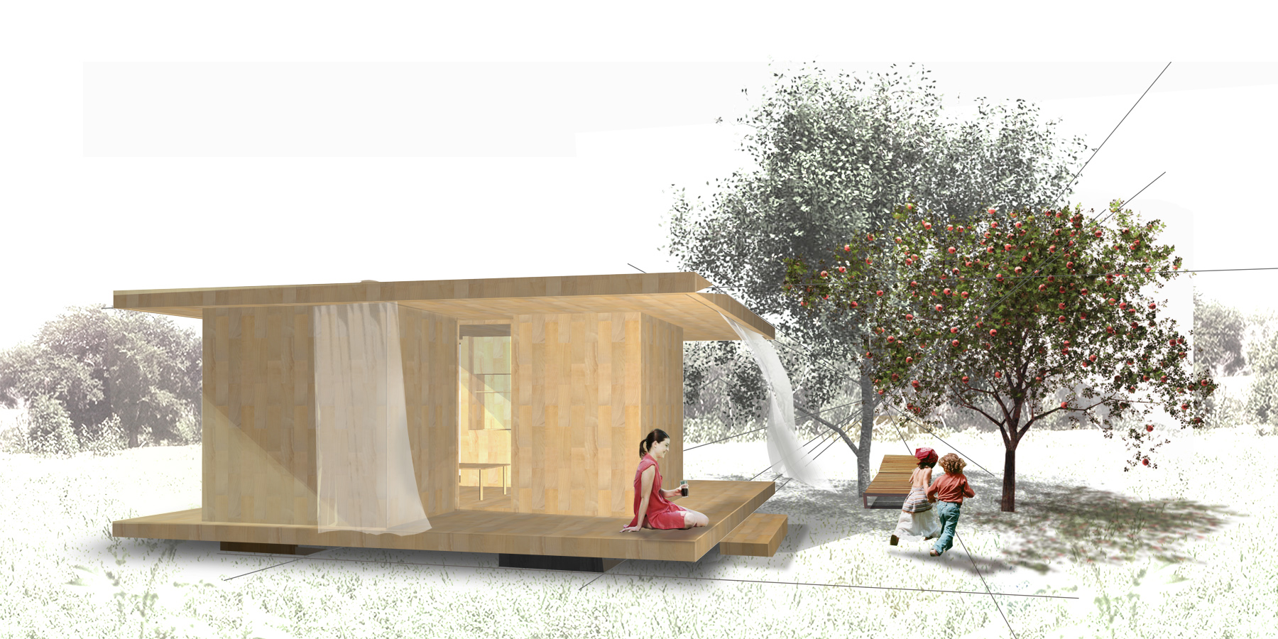kbeen dda architectes. Black Bedroom Furniture Sets. Home Design Ideas