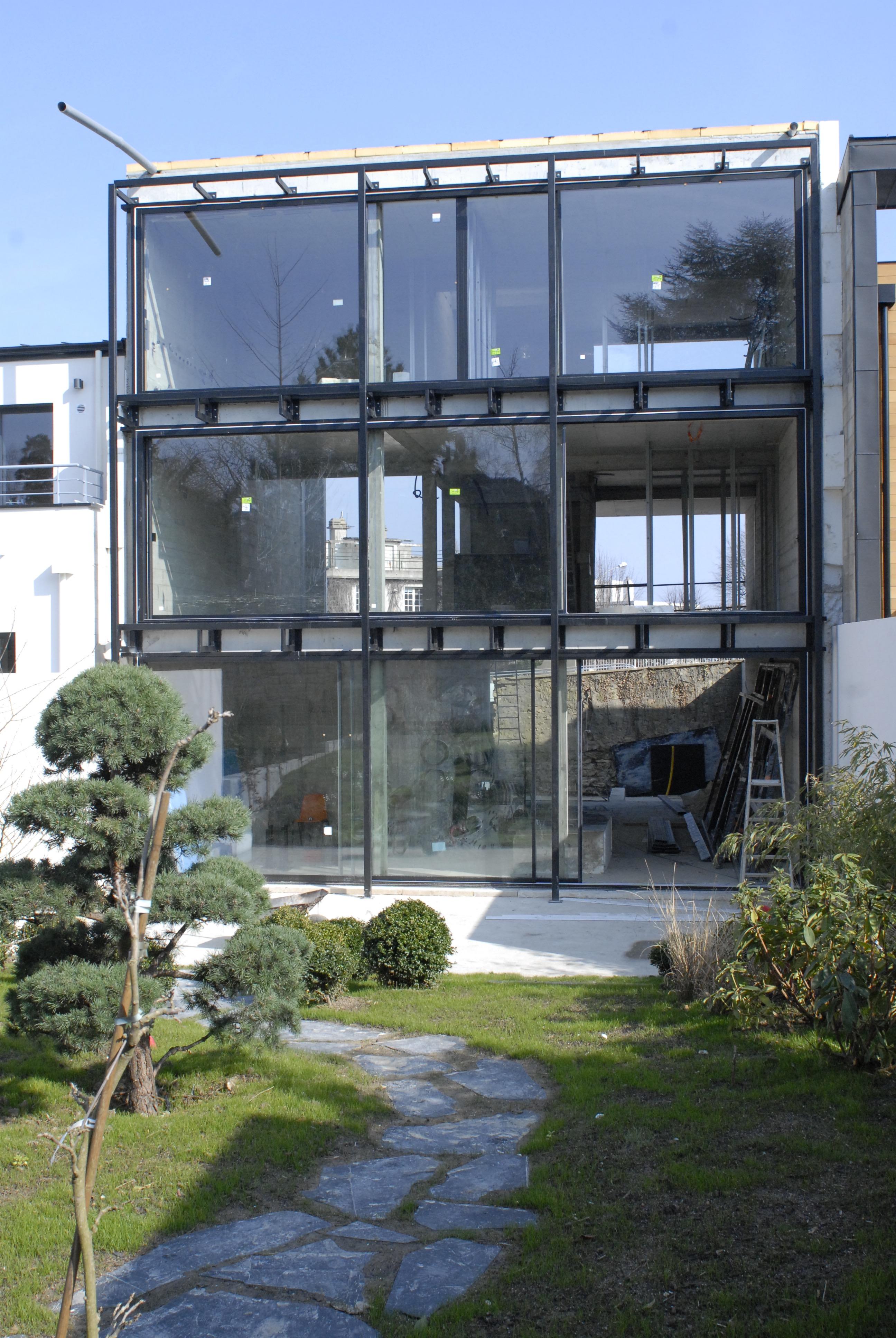 construction de la maison m dda architectes. Black Bedroom Furniture Sets. Home Design Ideas